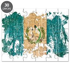 Guatemala Flag Puzzle