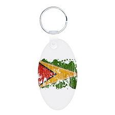 Guyana Flag Keychains