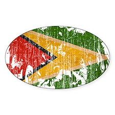 Guyana Flag Decal