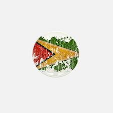 Guyana Flag Mini Button