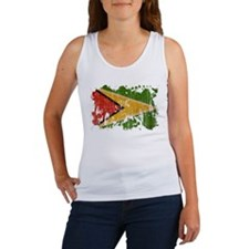Guyana Flag Women's Tank Top