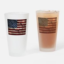 Divided States of America Drinking Glass