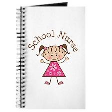 School Nurse Stick Figure Journal