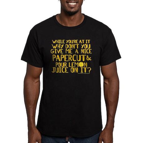 Lemon Juice Princess Bride Men's Fitted T-Shirt