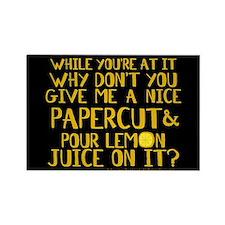 Lemon Juice Princess Bride Rectangle Magnet