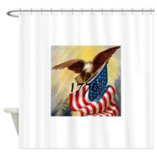 1776 SPIRIT OF.jpg Shower Curtain