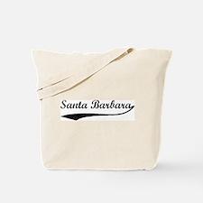 Santa Barbara - Vintage Tote Bag