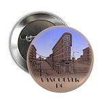 Vancouver Souvenir Button Gastown City Souvenir
