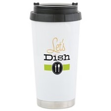 Let's Dish Stainless Steel Travel Mug