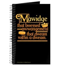 Princess Bride Mawidge Speech Journal