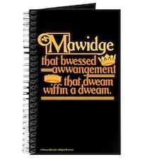 Princess Bride Mawidge Speech Journal