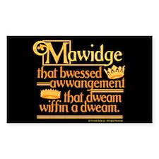 Princess Bride Mawidge Speech Decal