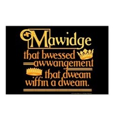 Princess Bride Mawidge Postcards (Package Of 8) Po