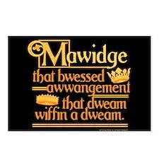 Princess Bride Mawidge Postcards (Package Of 8) Po