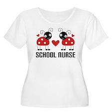 School Nurse Ladybug T-Shirt