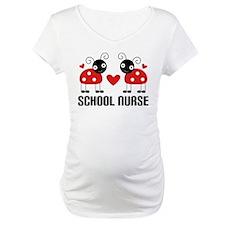 School Nurse Ladybug Shirt