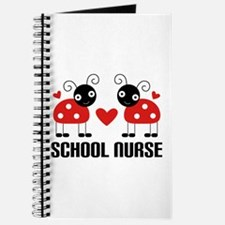School Nurse Ladybug Journal