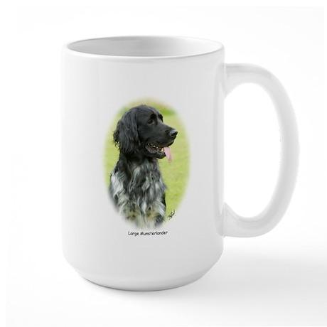 Large Munsterlander 9W020D-065 Large Mug