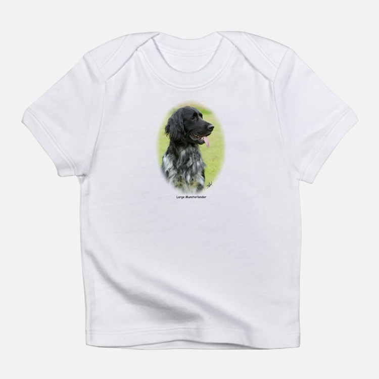 Large Munsterlander 9W020D-065 Infant T-Shirt