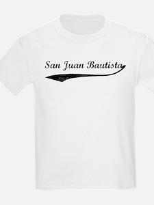 San Juan Bautista - Vintage Kids T-Shirt