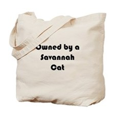 Personalized Savannah Cat Tote, Add Your Photo