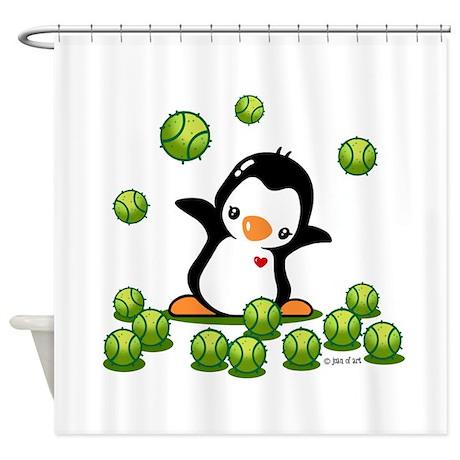 Tennis (24) Shower Curtain