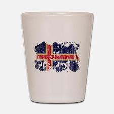 Iceland Flag Shot Glass