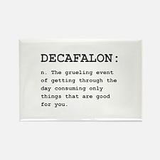 Decafalon Definition Black.png Rectangle Magnet (1