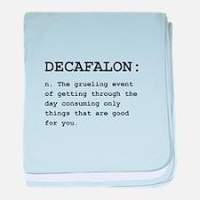 Decafalon Definition Black.png baby blanket