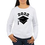 Class of 2022 Grad Hat Women's Long Sleeve T-Shirt