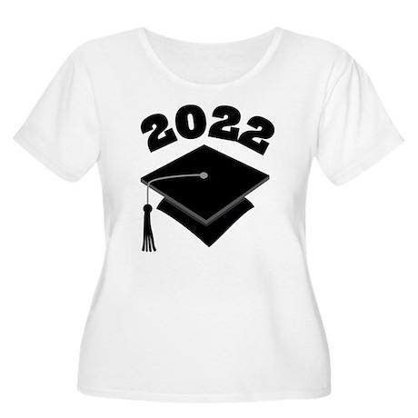 Class of 2022 Grad Hat Women's Plus Size Scoop Nec