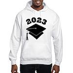 Class of 2023 Grad Hat Hooded Sweatshirt