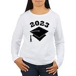 Class of 2023 Grad Hat Women's Long Sleeve T-Shirt