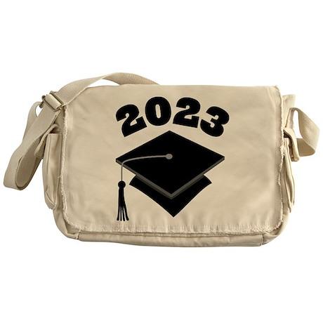 Class of 2023 Grad Hat Messenger Bag