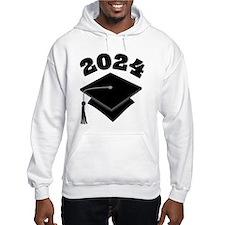 Class of 2024 Grad Hat Hoodie