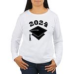 Class of 2024 Grad Hat Women's Long Sleeve T-Shirt