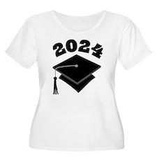 Class of 2024 Grad Hat T-Shirt