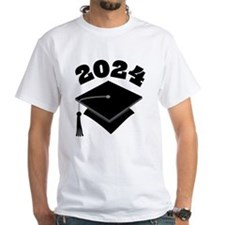 Class of 2024 Grad Hat Shirt