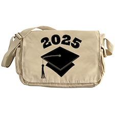 Class of 2025 Grad Hat Messenger Bag