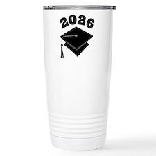 Class of 2026 Grad Hat Travel Mug