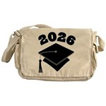 Class of 2026 Grad Hat Messenger Bag