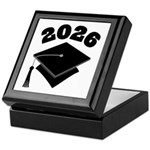 Class of 2026 Grad Hat Keepsake Box
