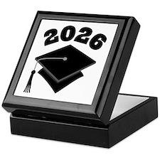 Class of 2026 Grad Hat Keepsake Box