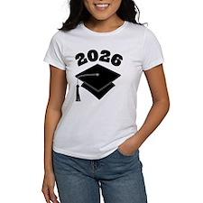 Class of 2026 Grad Hat Tee