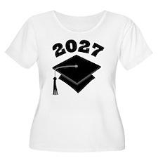 Class of 2027 Grad Hat T-Shirt