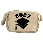 Class of 2027 Grad Hat Messenger Bag