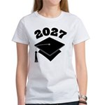 Class of 2027 Grad Hat Women's T-Shirt