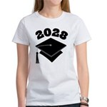 Class of 2028 Grad Hat Women's T-Shirt