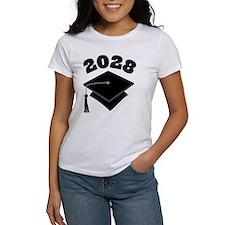 Class of 2028 Grad Hat Tee