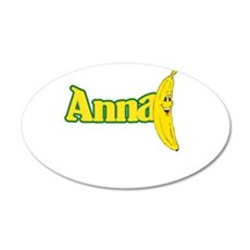 annabannapng.png 38.5 x 24.5 Oval Wall Peel